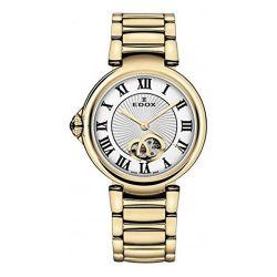 EDOX-85025-37RM-ARR-Womens-LaPassion-Gold-Tone-Automatic-Watch
