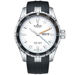 Edox-88002-3ORCA-ABUN-Mens-Grand-Ocean-Silver-White-Automatic-Watch