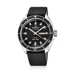Edox-88004-3-NIN-Mens-Delfin-Black-Automatic-Watch