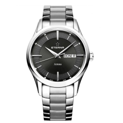 Eterna-2525.41.50.0274-Mens-Artena-Black-Quartz-Watch