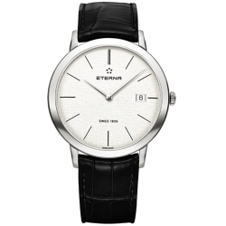 ETERNA-2710.41.10.1383-Mens-Eternity-Silver-Quartz-Watch