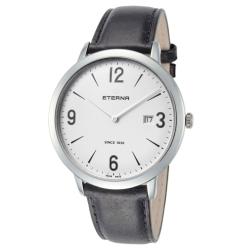 ETERNA-2730.41.13.1396-Mens-Eternity-Silver-Quartz-Watch