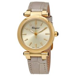 Ferragamo-FCH100017-Womens-Idillio-Champagne-Quartz-Watch