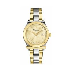 Ferragamo-FFL010017-Womens-1898-Gold-Tone-Quartz-Watch