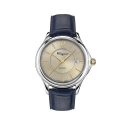 Ferragamo-FFT010016-Mens-Time-Silver-Tone-Automatic-Watch