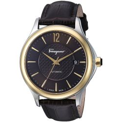Ferragamo-FFT030016-Mens-Time-Two-Tone-Automatic-Watch