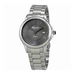 Ferragamo-FFT050016-Mens-TIME-Silver-Tone-Automatic-Watch