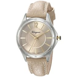 Ferragamo-FFV020016-Womens-Time-Silver-Tone-Quartz-Watch