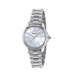 Ferragamo-FFV040016-Womens-TIME-Silver-Tone-Quartz-Watch