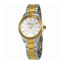 Ferragamo-FFV050016-Womens-Time-Two-Tone-Quartz-Watch