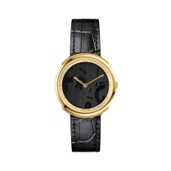 Ferragamo-FFY020017-Womens-Logomania-Black-Quartz-Watch
