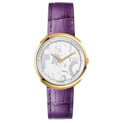 Ferragamo-FFY030017-Womens-Logomania-Silver-Quartz-Watch