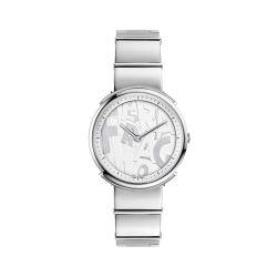 Ferragamo-FFY040017-Womens-Logomania-Silver-Quartz-Watch