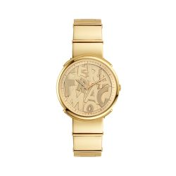 Ferragamo-FFY050017-Womens-Logomania-Gold-Tone-Quartz-Watch