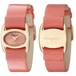 Ferragamo-FIE020015-Womens-VARINA-Gold-Tone-Quartz-Watch