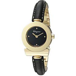 Ferragamo-FII070015-Womens-Gancino-Gold-Tone-Quartz-Watch