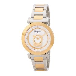 Ferragamo-FQ4250015-Womens-Minuetto-Two-Tone-Quartz-Watch