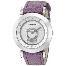 Ferragamo-FQ4260015-Womens-MINUETTO-Silver-Tone-Quartz-Watch