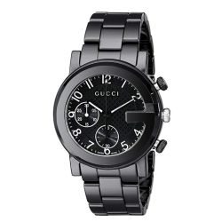 Gucci-YA101352-Mens-G-Chrono-Black-Quartz-Watch