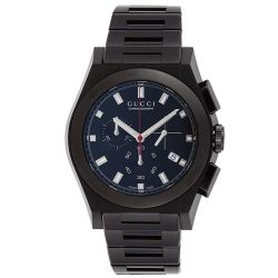 Gucci-YA115237-Mens-Pantheon-Black-Quartz-Watch