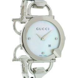 Gucci-YA122504-Womens-Chiodo-Silver-Quartz-Watch
