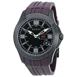 Gucci-YA126203-Mens-G-Timeless--Black-Quartz-Watch