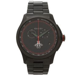 Gucci-YA126269-Mens-G-TIMELESS-Black-Quartz-Watch