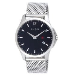 Gucci-YA126308-Mens-G-Timeless-Black-Quartz-Watch