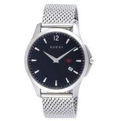 Gucci-YA126308-Mens-G-Timeless-Black-Quartz-Watch