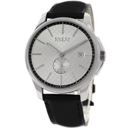 Gucci-YA126313-Mens-G-Timeless-Silver-Automatic-Watch