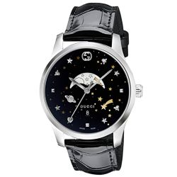 Gucci-YA126327-Mens-G-Timeless-Black-Quartz-Watch