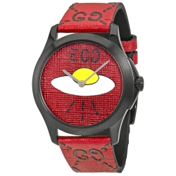Gucci-YA1264023-Mens-Ghost-G-Timeless-Red---Quartz-Watch