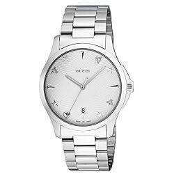 Gucci-YA1264028-Womens-G-Timeless-Silver-Quartz-Watch