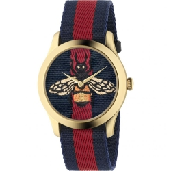 Gucci-YA1264061-Mens-G-Timeless-Blue-and-Red-Quartz-Watch