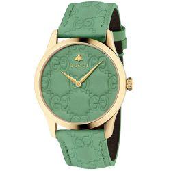 Gucci-YA1264099-Womens-G-Timeless-Green-Quartz-Watch