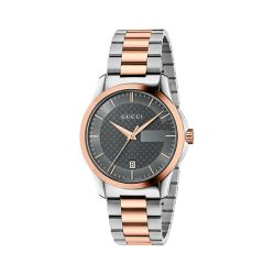 GUCCI-YA126446-Unisex-G-TIMELESS-Two-tone-Quartz-Watch