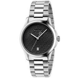 Gucci-YA126460-Mens-G-TIMELESS-Black-Quartz-Watch
