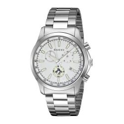 Gucci-YA126472-Mens-G-Timeless-Silver-Quartz-Watch