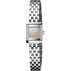 Gucci-YA128508-Womens-G-Frame-square-Silver-Quartz-Watch