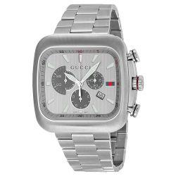 Gucci-YA131201-Mens-G-Coupe--Silver--Quartz-Watch