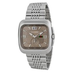 Gucci-YA131301-Mens-G-Coupe-Brown-Quartz-Watch