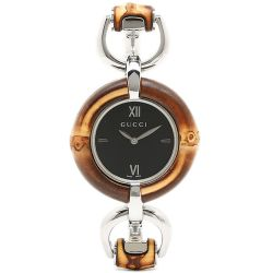Gucci-YA132407-Womens-Bamboo--Black-Quartz-Watch