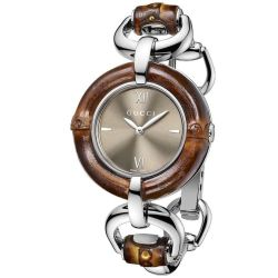 Gucci-YA132408-Womens-Bamboo-Brown-Quartz-Watch