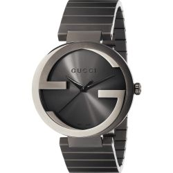 Gucci-YA133210-Mens-Interlocking-G-Grey-Quartz-Watch