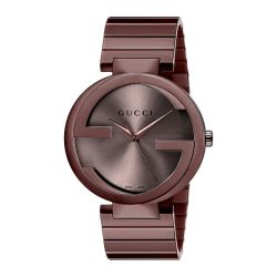 Gucci-YA133317-Mens-Interlocking-G-Brown-Quartz-Watch