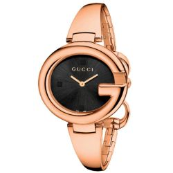 Gucci-YA134305-Womens-Guccissima-Black-Quartz-Watch