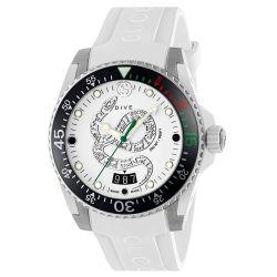 Gucci-YA136330-Mens-Dive-White-Quartz-Watch