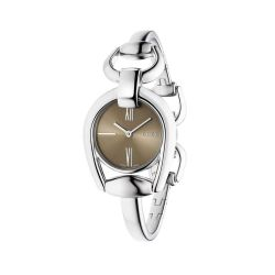 Gucci-YA139501-Womens-Horsebit-Brown-Quartz-Watch