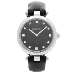 Gucci-YA141403-Womens-Diamantissima-Black-Quartz-Watch