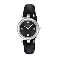 Gucci-YA141506-Womens-Diamantissima-Black-Quartz-Watch